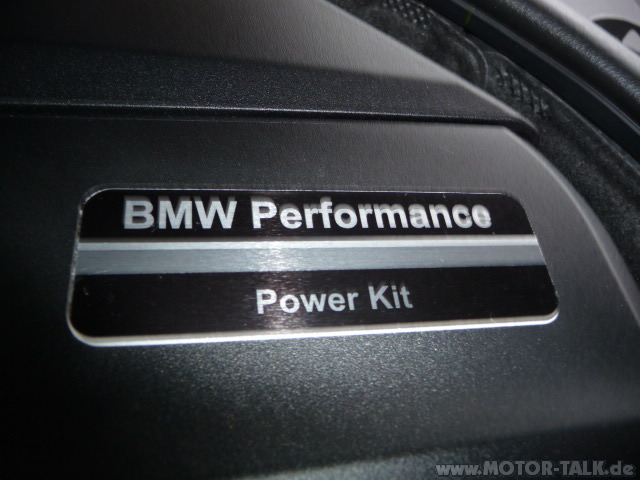 bmw power performance kit question