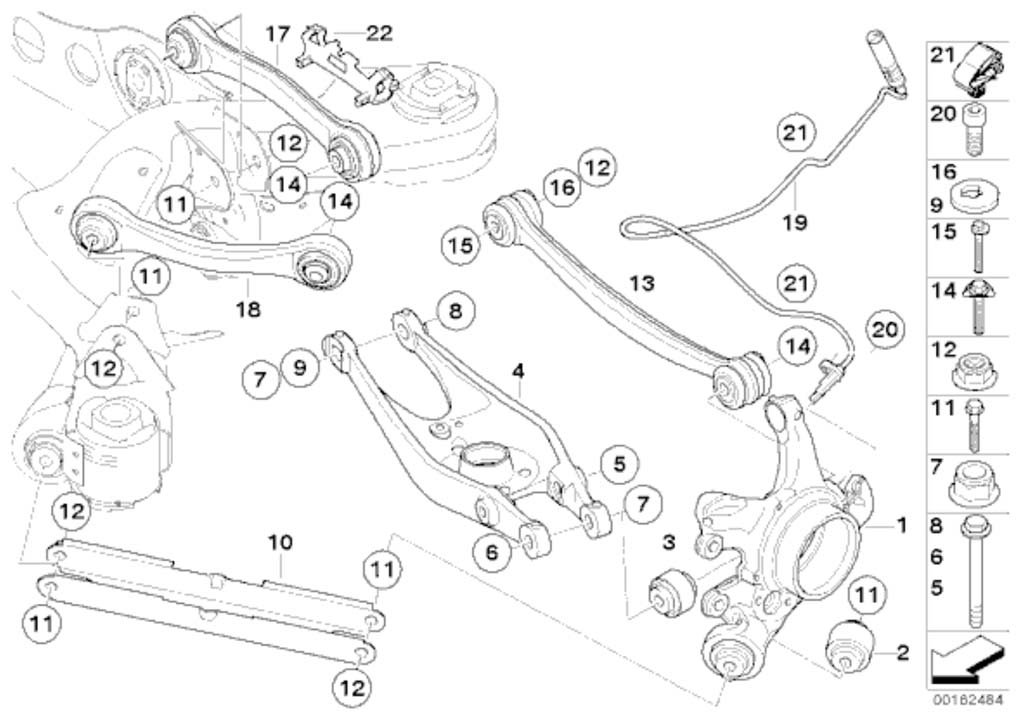 name: 1 m3 exploded view jpg views: 28084 size: 88 3 kb m3 rear suspension  arms