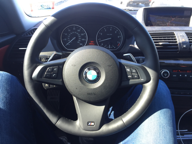 Z4 E89 M Sport Steering Wheel Installed