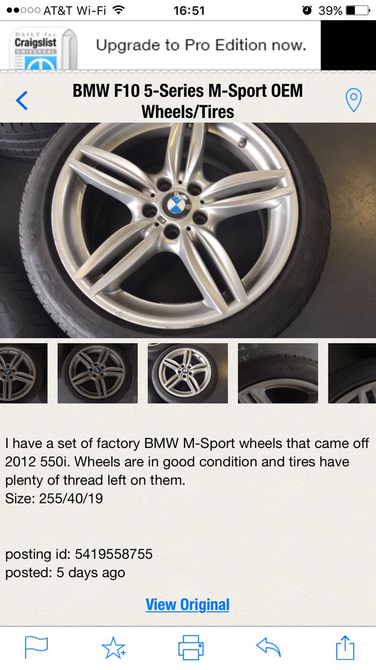 Bmw X5 Rims Craigslist - Optimum BMW