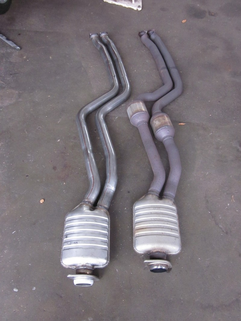 Difference between N54 and N55 exhaust - BMW 1 Series Coupe