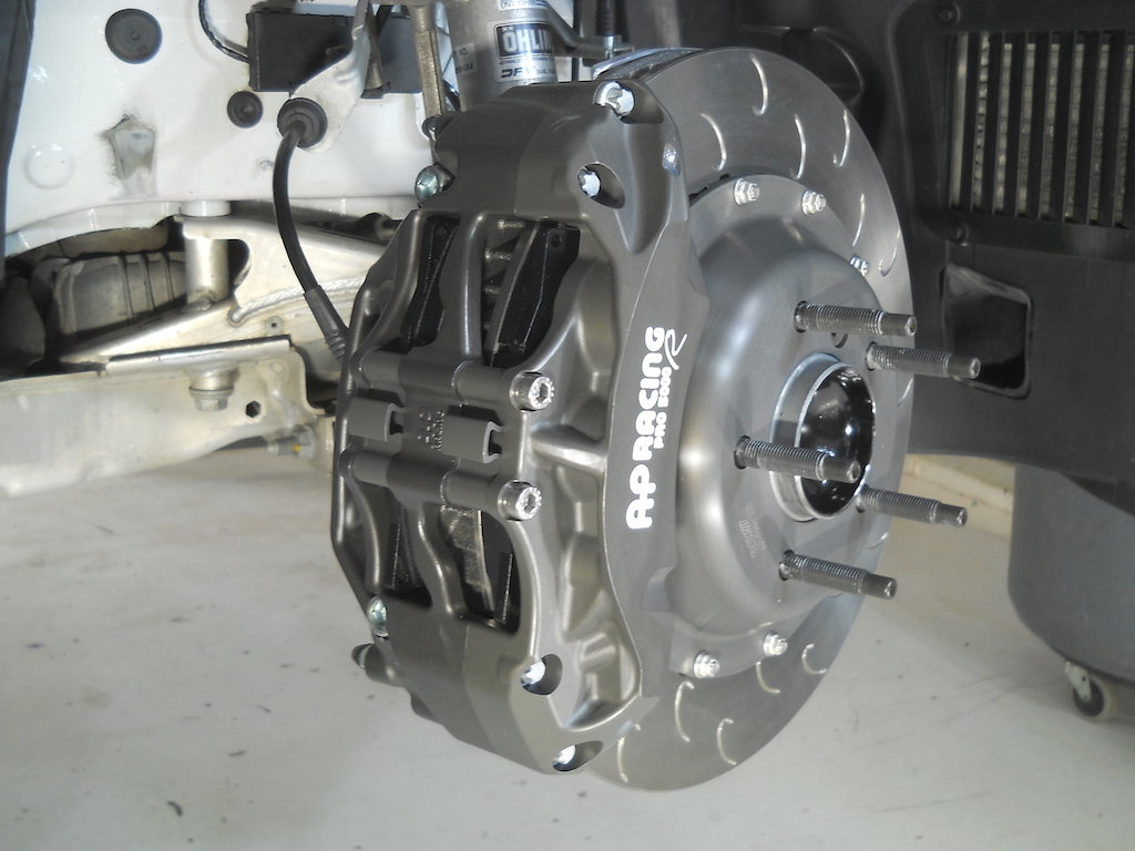 fe1rx AP Racing BBK Designed and Installed - BMW 1 Series