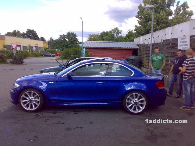 1 Series Coup 233 Montego Blue