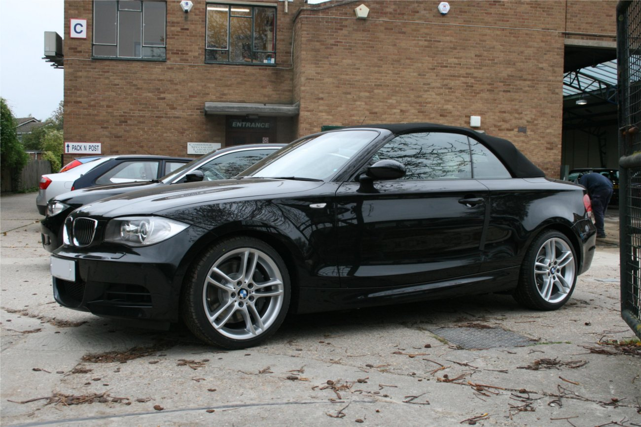 My I Convertible Has Finally Arrived - Bmw 135is convertible