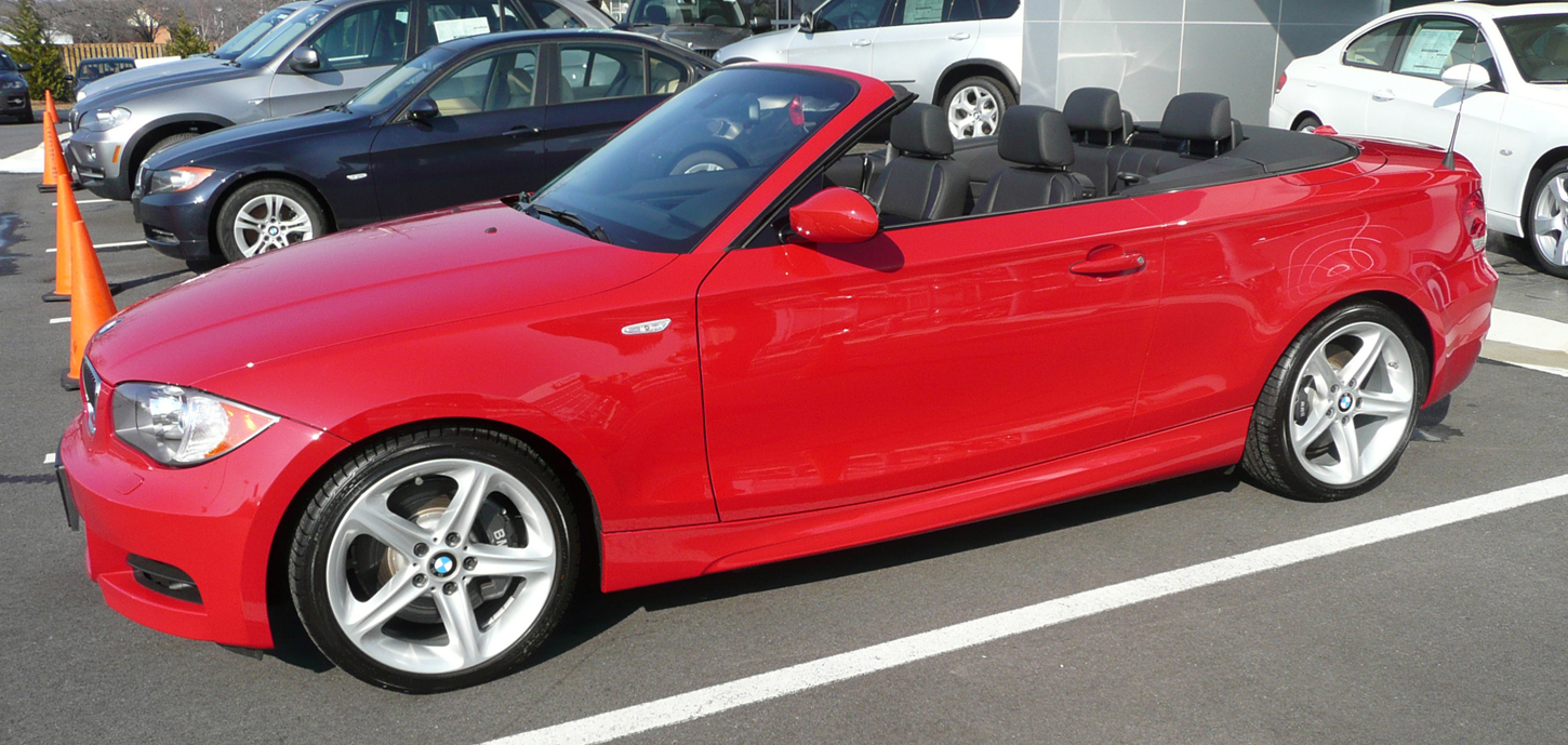 My New Ride I Convertible Crimson Red - 135i bmw convertible
