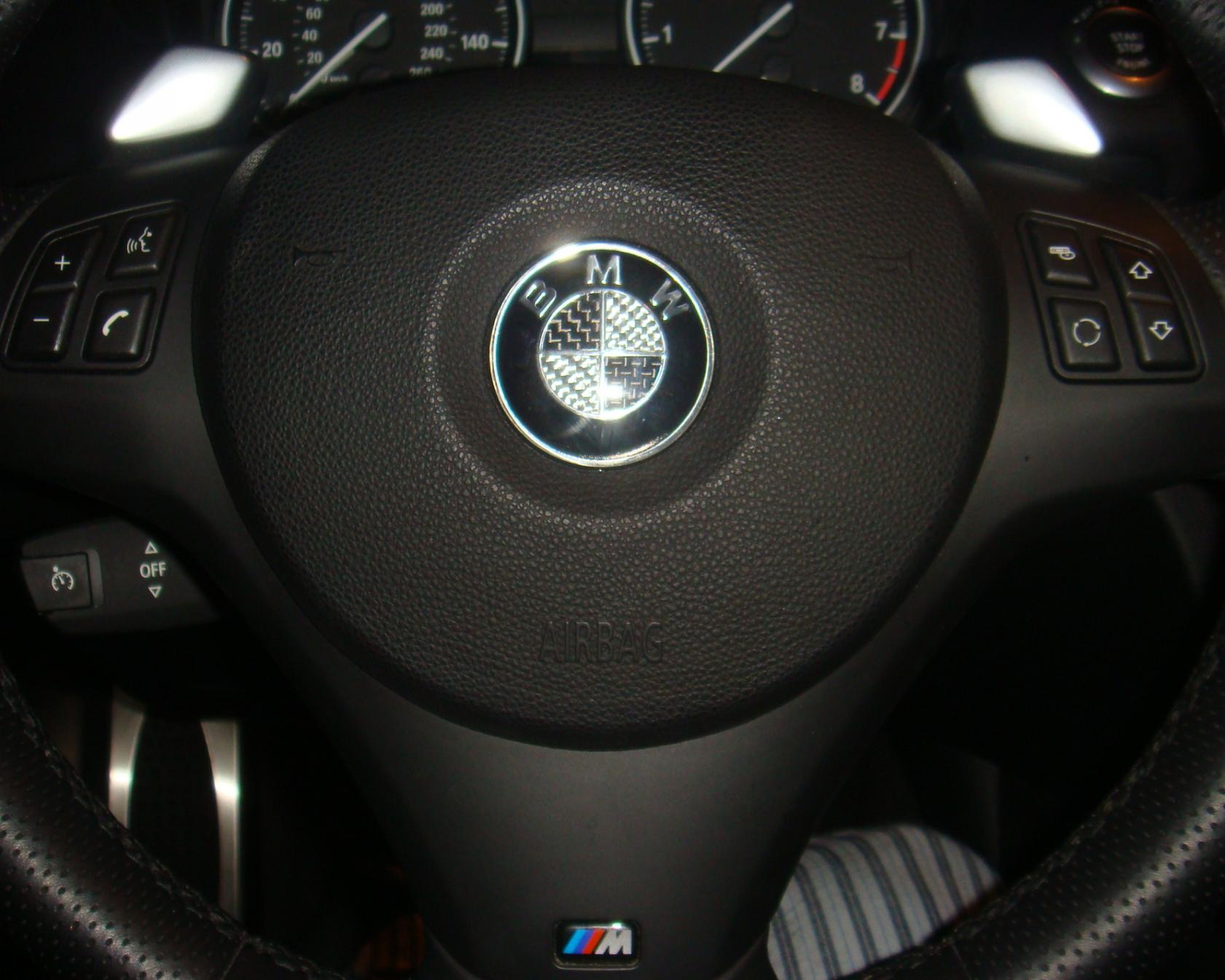 Can You Remove And Replace The Steering Wheel Badge - Bmw decals for wheels