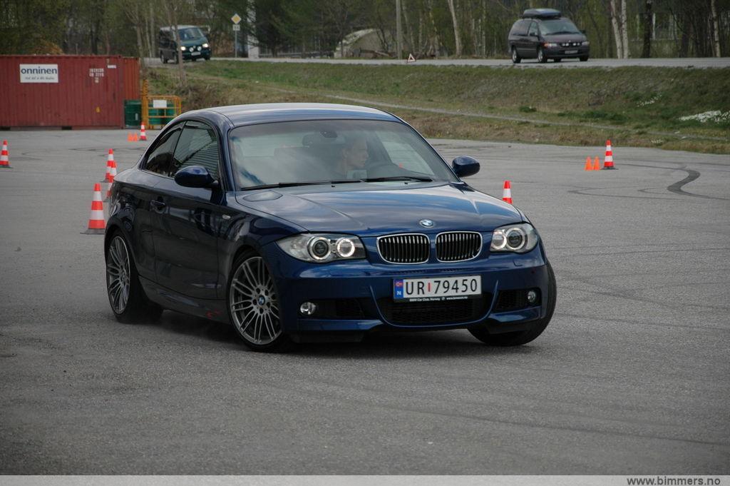 bmw 1 series coupe m sport 120d. 120d, M-sport, Hamp;R springs