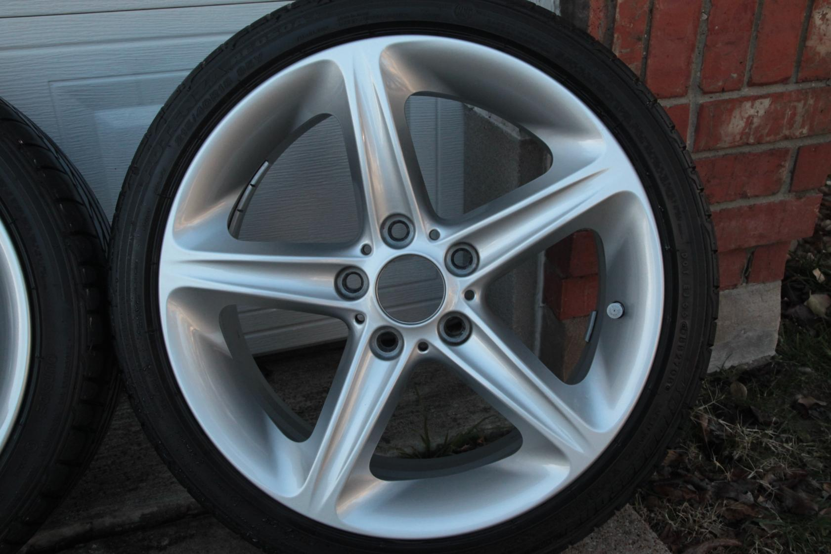 Fs Bmw 135i Style 264 Rims Tires And Tpms
