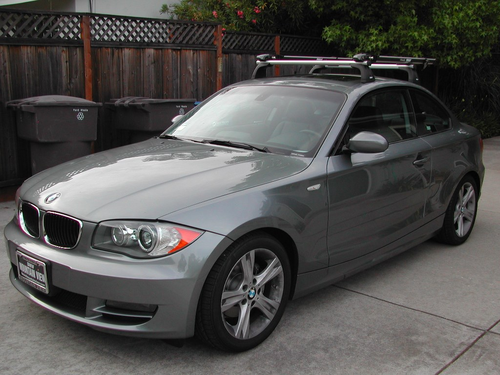 Bmw Factory Roof Rack With Thule Bike Holder