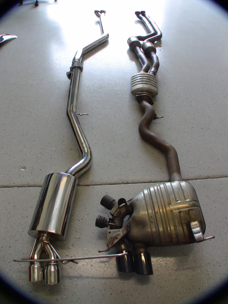 Coupe Series bmw 135i exhaust FS: Riss Racing Downpipe-Back Exhaust!