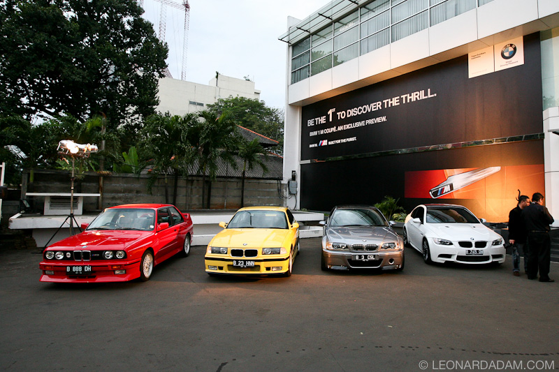 1m Revealed In Indonesia Next To E30 E46 And E92 M3s Bmw M3 Forum