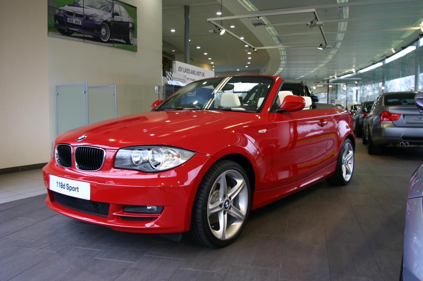BMW 3 Series » 2008 Bmw 1 Series Convertible - BMW Car Pictures, All ...