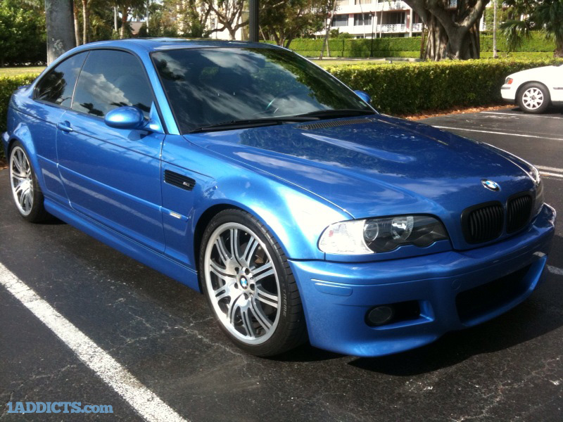 Photos Of Valencia Orange 1m Vs E46 M3 Estoril Blue