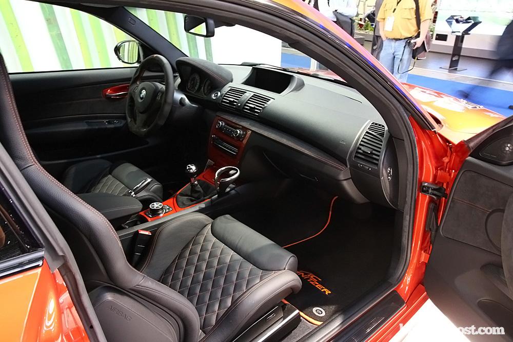 2011 Frankfurt Ac Schnitzer Bmw 1m Coupe Debut