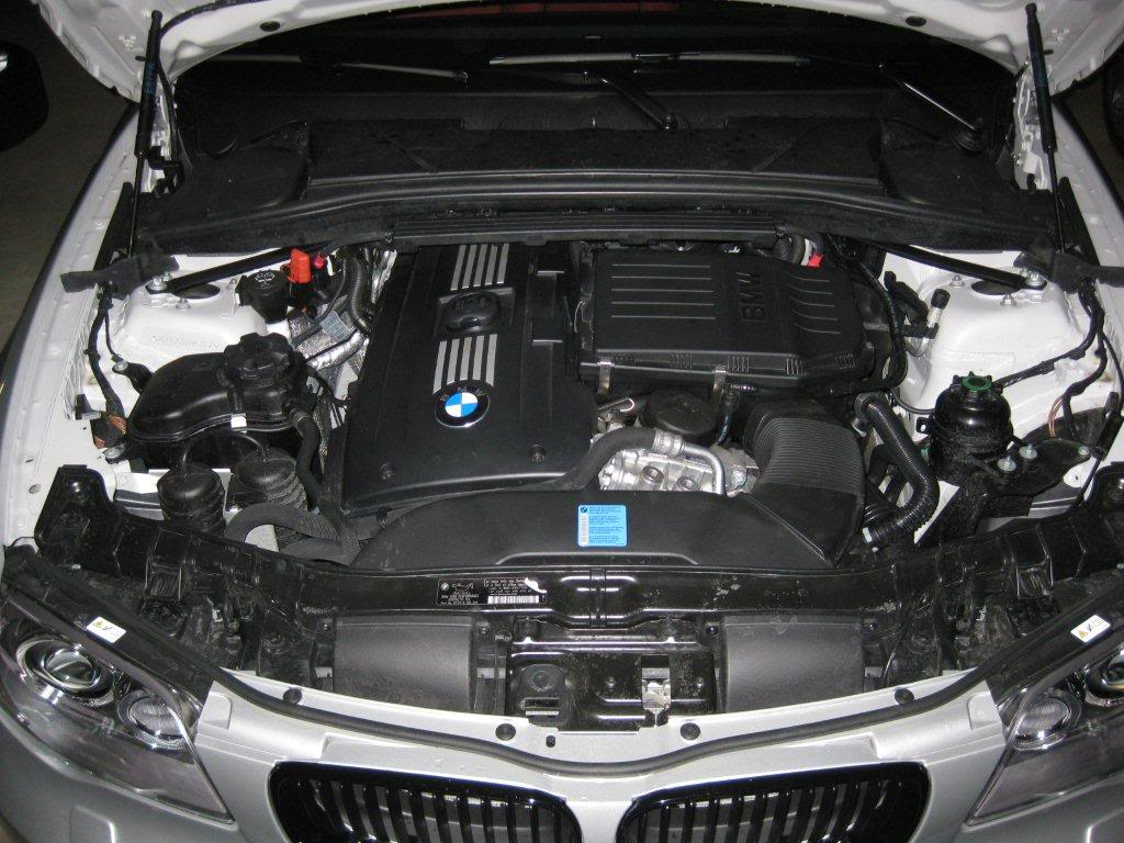 135i air filter replacement DIY...