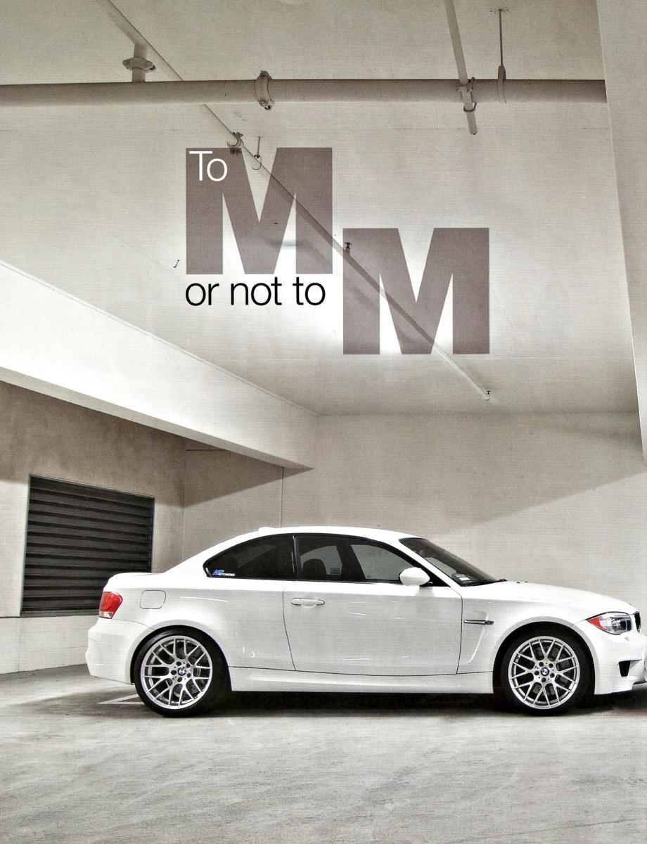 Bmw Car Magazine Article M Grudge Match 1m Vs Tuned 135i