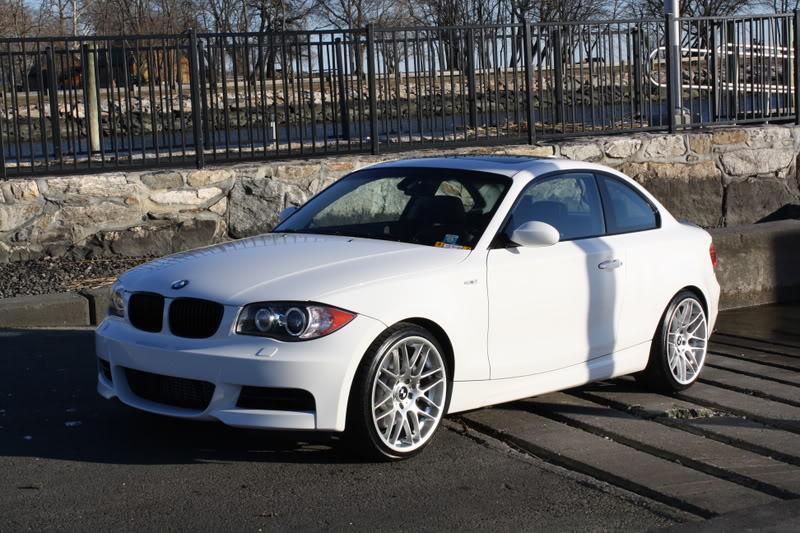 VWVortexcom FS BMW I Twin Turbo Coupe White Black - Bmw 135i twin turbo