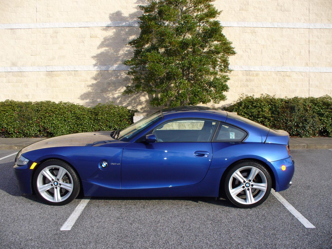 Fs 2007 Bmw Z4 Coupe Montego Blue