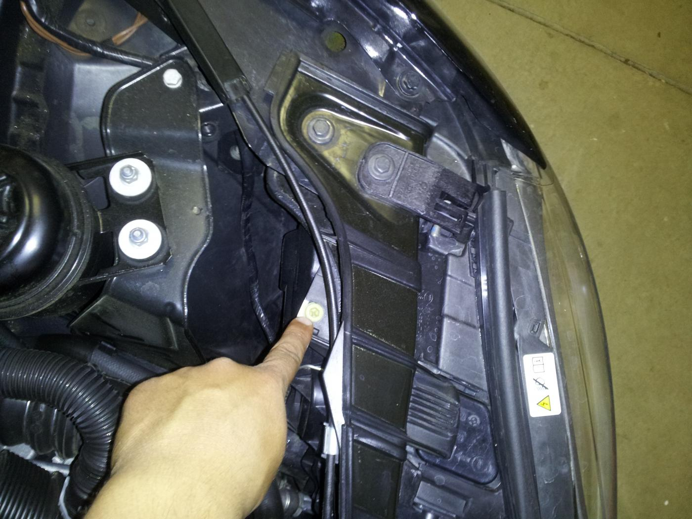2008 toyota prius headlight adjustment