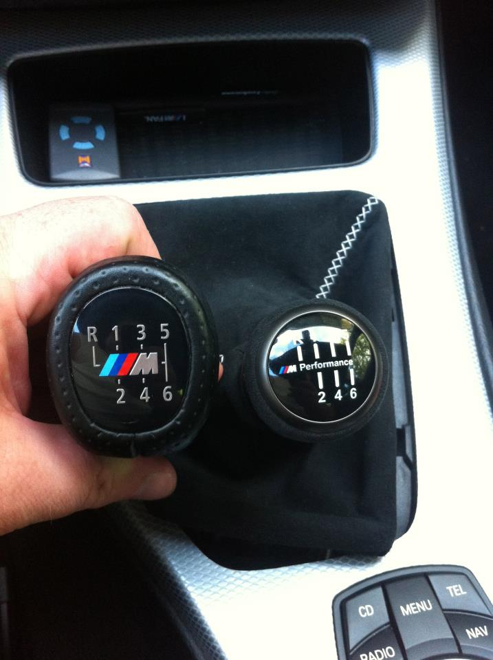 New M Performance Shifter Knob