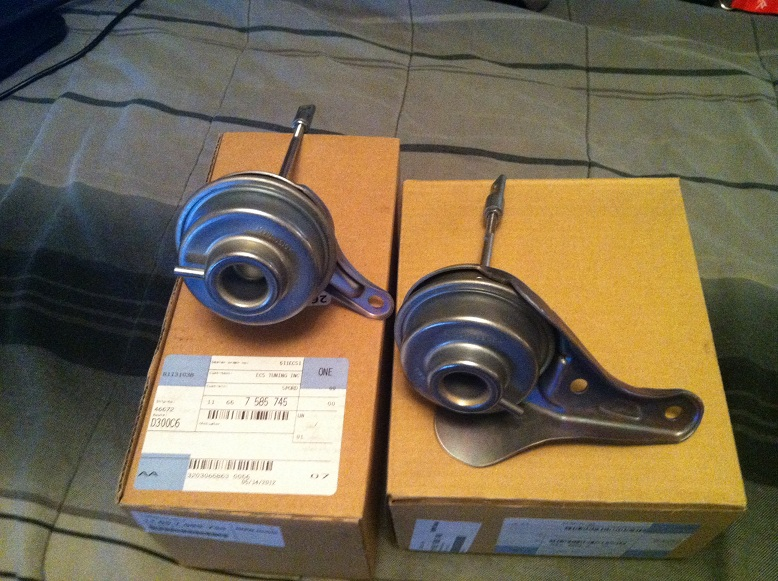 BNIB N54 front and rear Wastegate Actuators