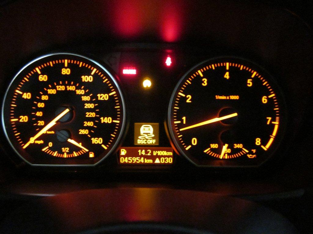 Change the default dash display? - BMW 1 Series Coupe Forum
