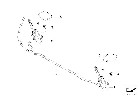 windshield washer pump priming