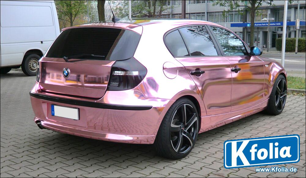 Pink Wrap Job