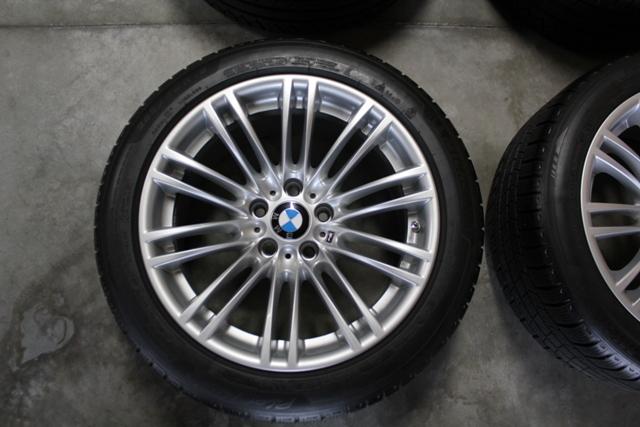 Fs Like New Oem Bmw 219m Winter Wheel Set Tpms