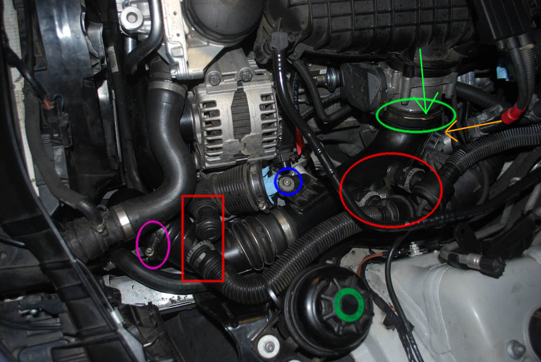 Showthread moreover 3 7 Liter Engine Thermostat Location in addition 1063 V6 Engine Exploded View likewise 30 WATER Removing Your Thermostat additionally 32 WATER Heater Control Valve Replacement. on 2008 bmw x3 coolant pump
