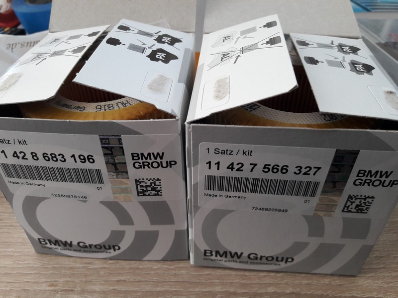 Name:  oil filters new vs old bmw N54  20170516_160148.jpg Views: 290 Size:  120.9 KB