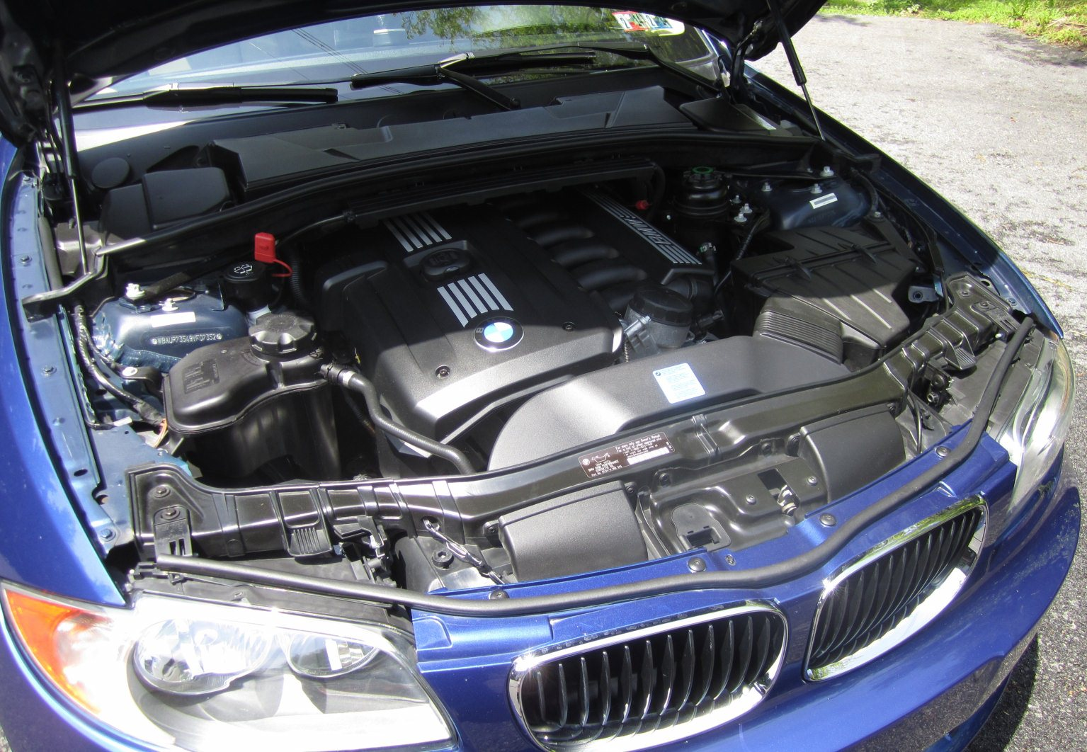 series engine bay cleaning detailing