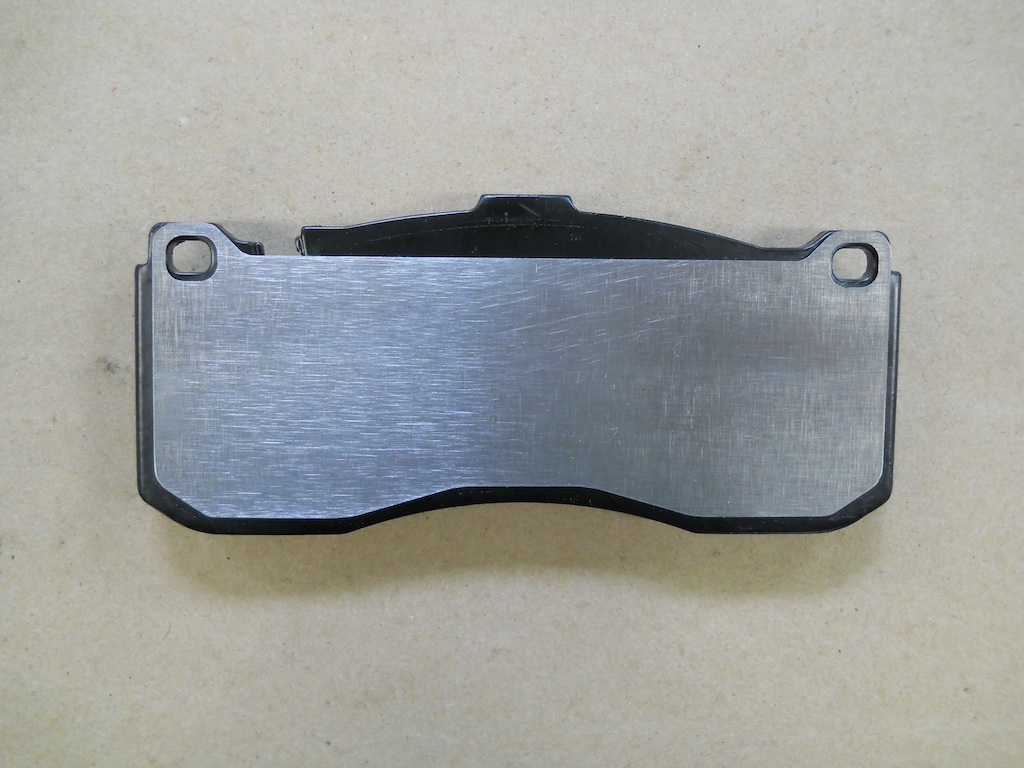 Name:  4 Front Pad with Ti Shim.jpg Views: 2098 Size:  210.0 KB