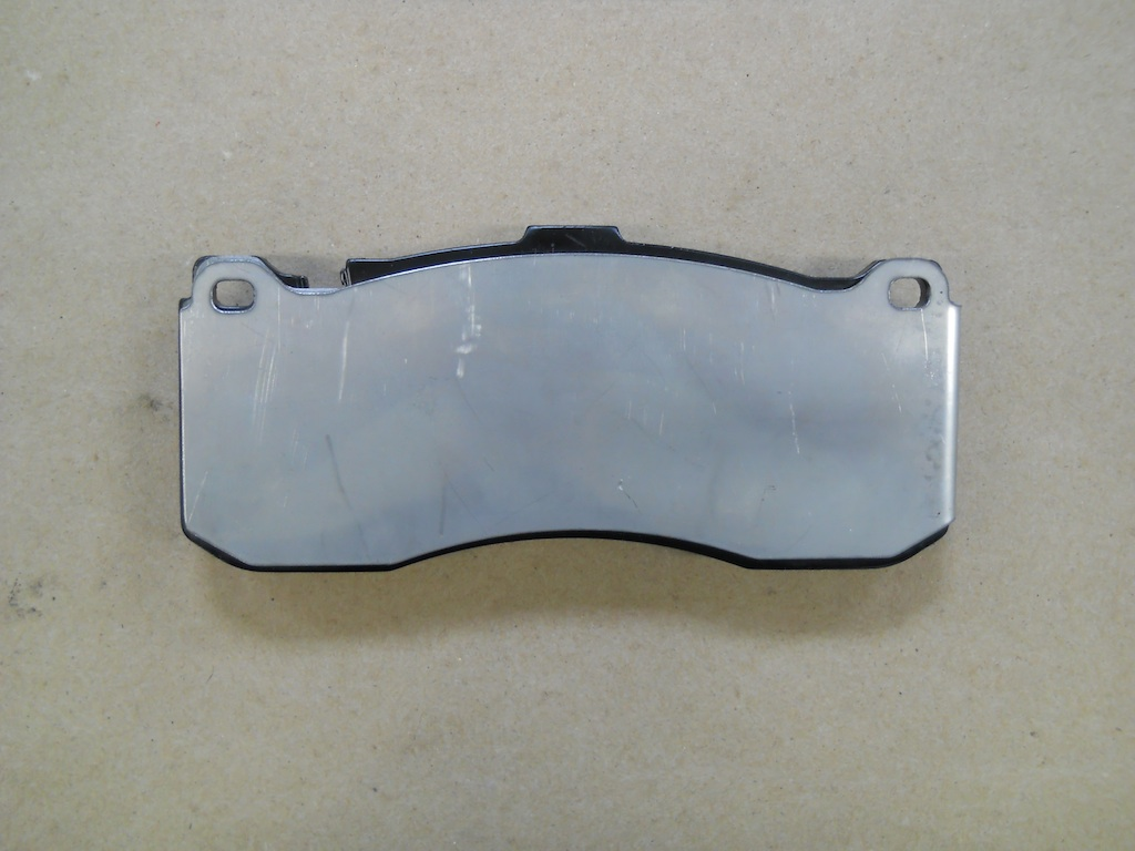 Name:  5 Front Pad with Ti and SS Shims.jpg Views: 2099 Size:  162.3 KB