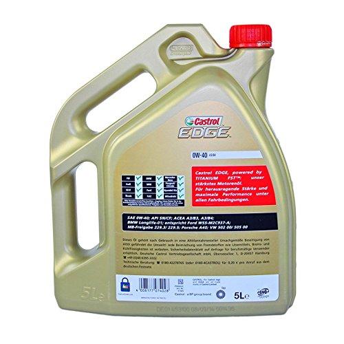 Name:  Castrol Edge Fluid Titanium 0W40 A3 B4 Motoröl inkl. Castrol Olwechselanhänger  DXGjW4L.jpg Views: 42 Size:  42.2 KB