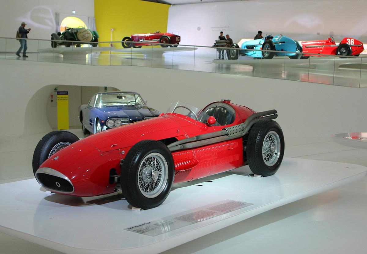 Name:  Ferrari Museum Maserati s on display.jpg Views: 148 Size:  284.0 KB
