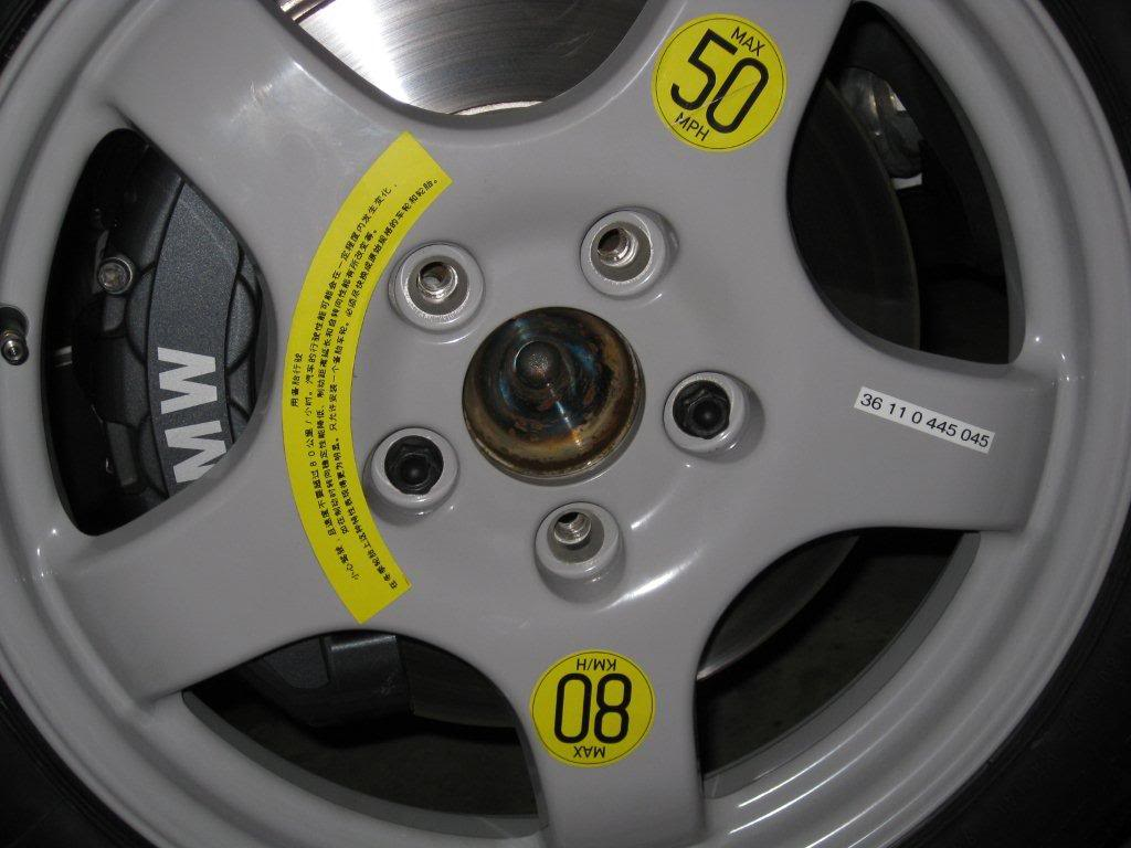 Name:  spare tire 135i.jpg Views: 1007 Size:  78.2 KB