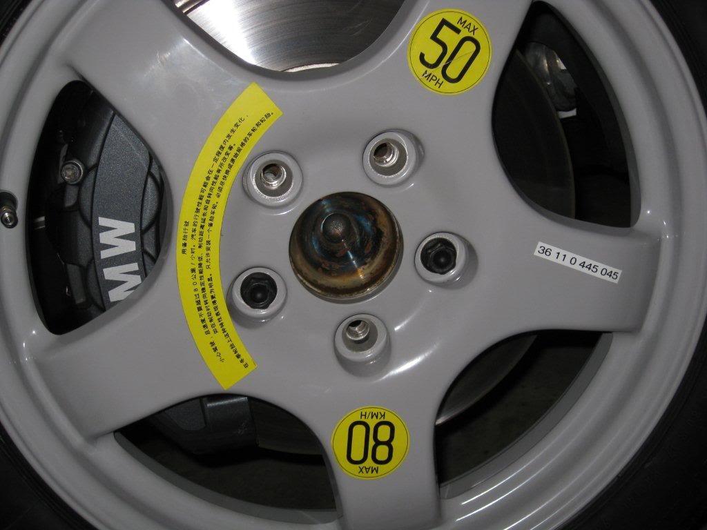 Name:  spare tire 135i.jpg Views: 1035 Size:  78.2 KB