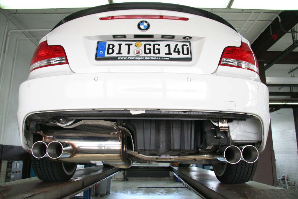 Bmw M1 1m Prototype Finally Spotted With Signature M Quad Exhaust